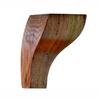 "Wood Restaurant Booth Legs POD-4 (4"") & POD-6 (6"") 3""x4"" & 3""x6"""