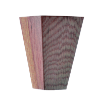 "Wood Restaurant Booth Legs SQT-4 (4"") & SQT-6 (6') 2-5/8""x4"" & 2-5/8"" x 6"