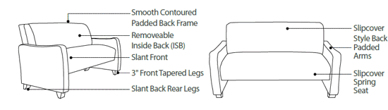Commercial Sofas | Office Sofas | Custom Chairs and Sofas Commercial