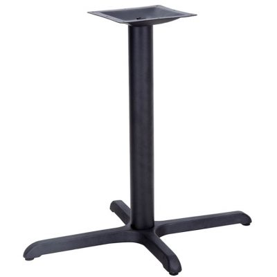 22 x 30 table base black
