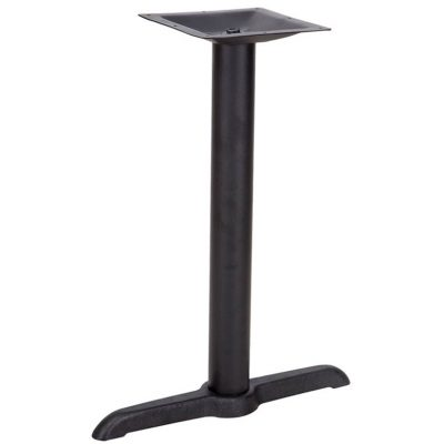 Black Table Base 5 x 22 inches