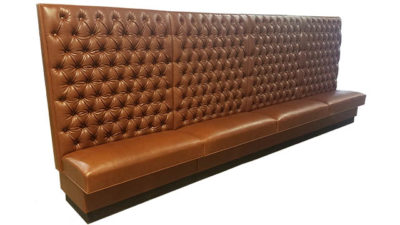 Button Tufted Wall Bench SIMS Superior Seating