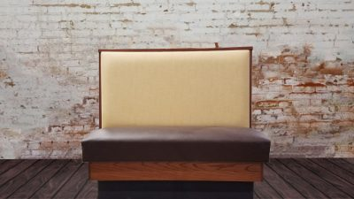 K&W Cafeterias Upholstered Booth Seating