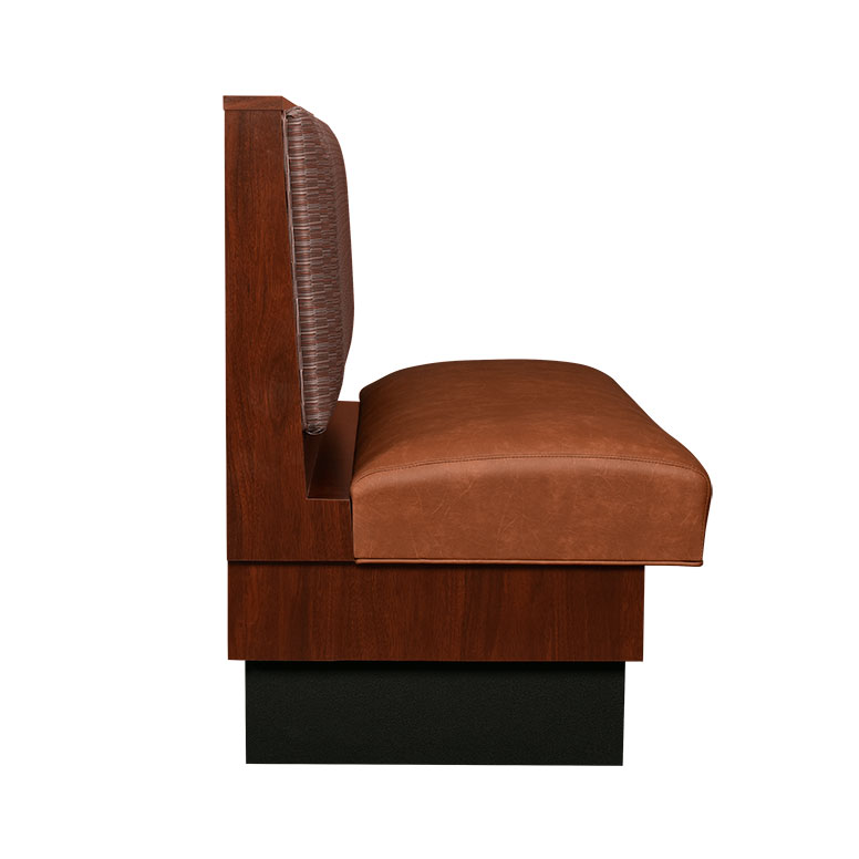 Laminate Booth Padded Inside Back Sinuous Spring Seat