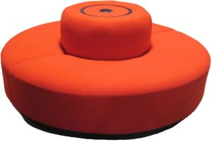 Round Pouf Booth