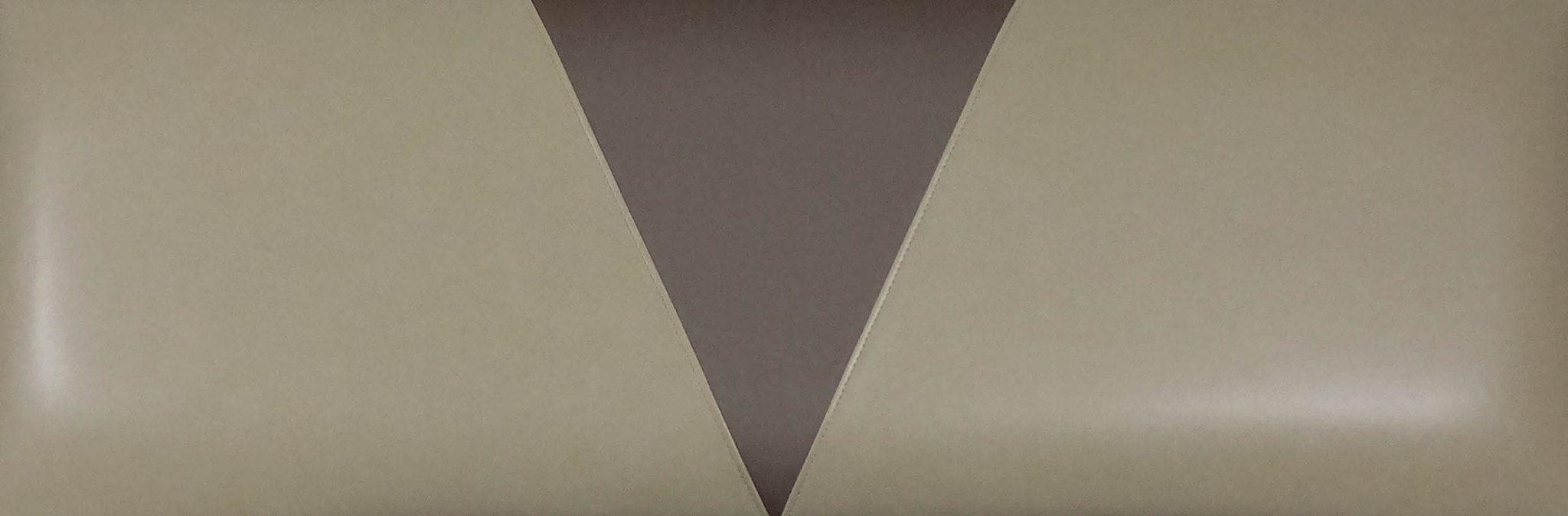 V-Insert Upholstered Inside Booth Back