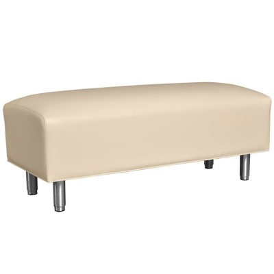 contoured waiting bench