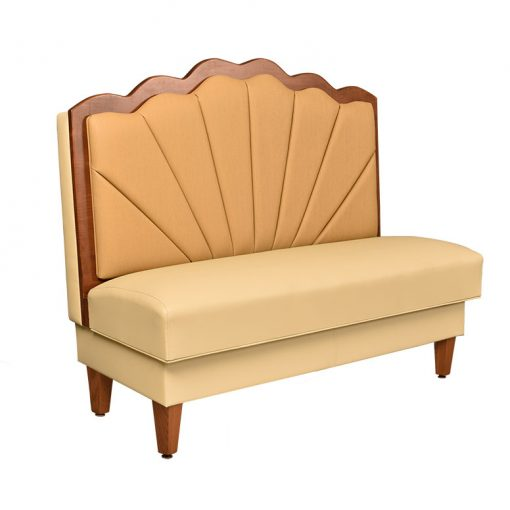 Scalloped Trim and Inside Back Booth Seating