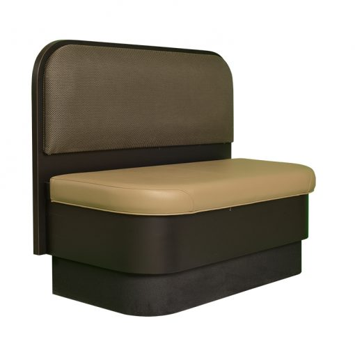padded booth seat