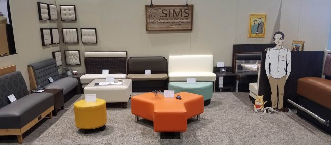 Sims Superior Seating Showroom