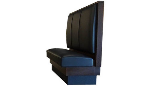 Single Booth Upholstered